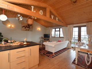 56682 Log Cabin situated in Knighton (8.5mils NW)