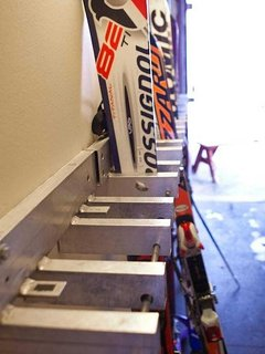 The Ski room is perfect for storing your equipment so you don't need to drag it inside.