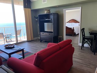 Tidewater 2812,1BR/2BA+bunk room, directly on Beach, Gulf Front Master, Sleeps 6