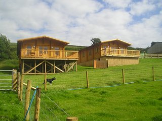 Self catering log cabins on our Cumbrian Farm