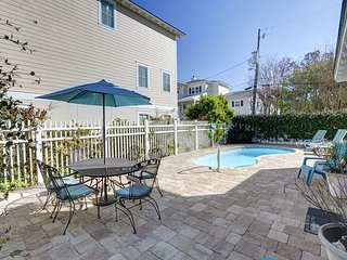 Beachside Tybee Vacation Home with Private Pool!