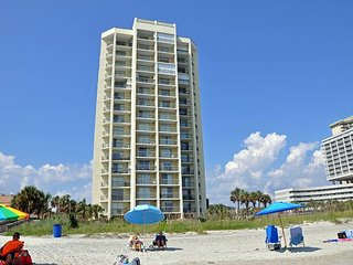 Luxury 4 bedroom first floor ocean view condo at Kiingston Plantation