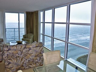 Luxury 3BR/3BA Oceanfront end unit in Seaside Resort Crescent section of NMB