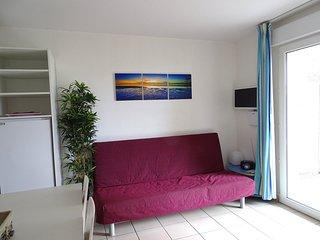 300 m plage, appartement 8 pers de la Famille Albizzi + piscine Landes Aquitaine