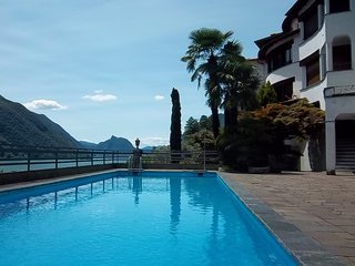 Fabulous apartment with amazing view on Lugano Lake