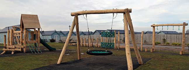 Childrens' playground - on site