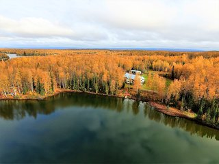 Alaska's Heritage Lodge! True Alaska Experience! Perfect for Large Adult Groups!