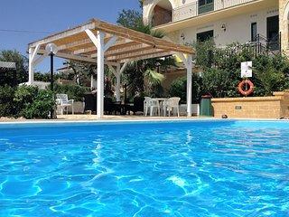 Appartamento Selinunte Posti letto 2+1 Villa Ceni Triscina di Selinunte sul mare