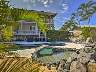 Kailua-Kona Apt. w/Pool - Half-Mile Walk to Beach!