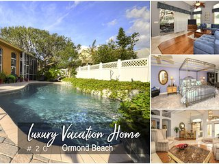 Luxury Pool Home - Steps away from the River/Beach - 3BR/2BA  #20
