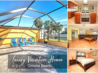 Sept Specials! Luxury Pool Home #200-Steps To Beach-4BR/3BA