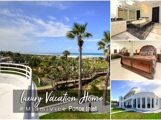 Oct Specials!'Miami Vice'- Oceanfront W/ Heated SwimSpa - 4BR/5BA