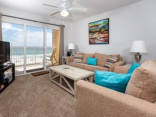Gulf Dunes 404: GORGEOUS UPDATES!! DON'T MISS OUT, beachfront 4th floor