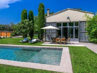 Casa de vacaciones con aire acondicionado en St-Rémy-de-Provence, piscina privad