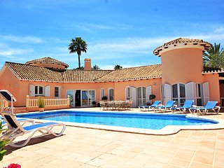 LA MANGA CLUB Villa Celeste 5 bedrooms Private pool