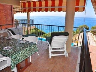 Apartamento vista a la playa para 5 personas en Salou(79639)