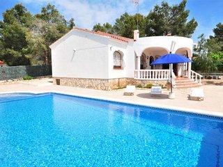 Villa dentro urbanización para 8 personas en Ametlla de Mar(59360)