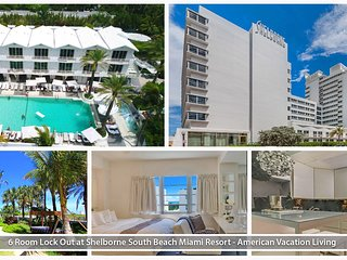 6 Rm Lock-Out at Shelborne South Beach Miami Resor
