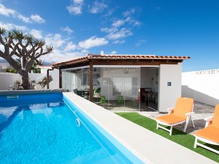 Villa with Private Pool&Sea Views &El Teide &Beach