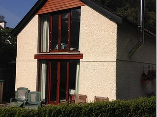 Lawn Cottage, log burning stove, garden and private parking.