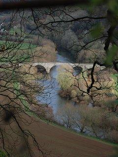 View from Coppett Hill towards Kerne Bridge