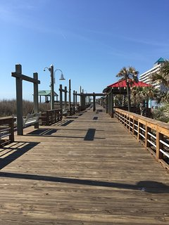 Shop and dine at our beautiful, newly renovated boardwalk