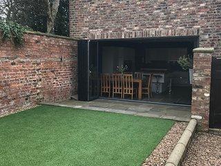 Walled Garden into Kitchen