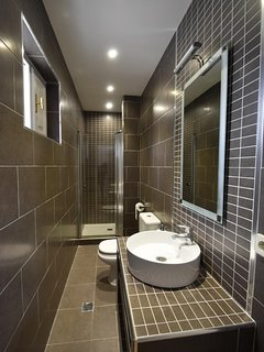 Luxury shower room with wc Ground Floor