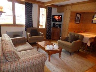Superbe appartement 3 pièces cabine pour 8 personnes situé à Val d'Isère, skis a