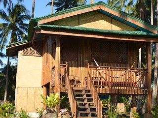 Kyla's House.  Elevated bamboo cabin with 2 bedrooms and 1 bathroom.