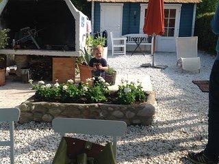 Individuell gestaltetes Ferienhauschen in idyllischer Lage in Gardaseenahe