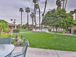 NEW! Indian Wells Condo on Golf Course w/ Pool!