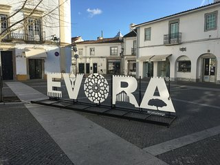 Historic Roman Evora City