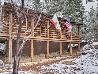 NEW! Remodeled Idyllwild Cabin w/Full Forest Views