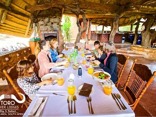 TORO RIVER LODGES specialize in 'Exclusive-Use' Safaris, your Private Bush Stay!