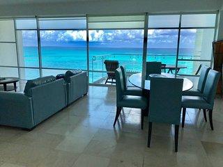 Vista Panoramica Espectacular del Mar Caribe