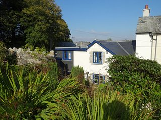 LOPES COTTAGE, homely Dartmoor cottage in pretty village. Pretty garden with vie