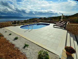 Sea view pool villa for rent, Brac island