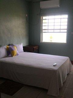 Bedroom in our Courvoisier 1 Bedroom  Apartment