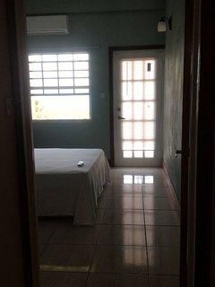 Entrance to our Courvoisier Apartment