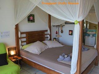 Studio 28m², confortable et charmant avec terrasse 8m², à proximité de la plage.