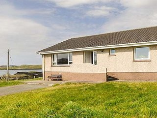 Idyllically located bungalow, beautiful views, 20 miles from Stornoway