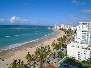 avHipnotizing Views Directly on Isla Verde Beach. Just listed!