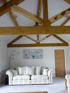Beautiful Oak Vaulted Lounge
