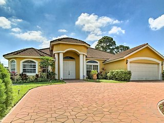 Chic Port St Lucie Home near PGA Village & Gardens