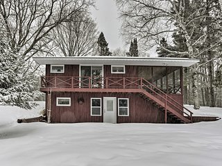 Lakefront Cabin w/ Fire Pit & Dock near Brainerd!