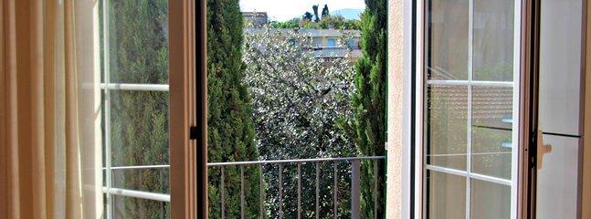 Balcony overlooking Ceriale