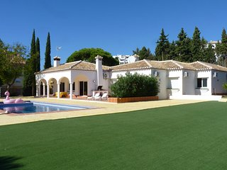 Elegant single level Villa in Mijas Golf