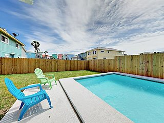 Brand-New 3BR w/ Private Pool in Heart of Port Aransas: Near Downtown & Beach