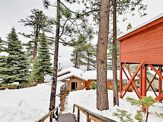 Lakefront 3BR Monthly Summer/Ski Lease - Stunning Views on Private Beach